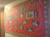 """Get to Know Your Campus"" Board"